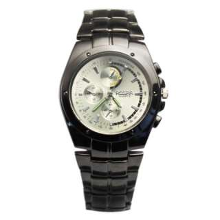 High Quality Brand New Stainless Steel Mans Fashion Quartz Wrist Watch