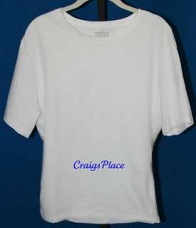 Spanx Cotton Compression Crew Crew Neck T Shirt A210518