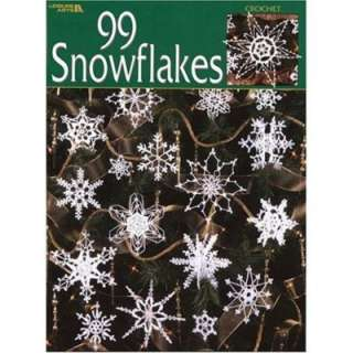 99 Crochet Snowflakes Patterns Book Chistmas Tree Flake