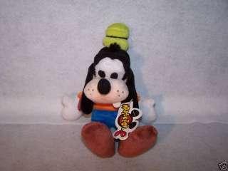 Walt Disney Goofy 9 plush toy doll bean bag