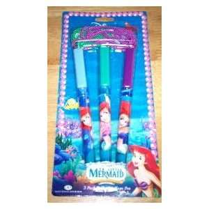 Disney Little Mermaid 3 Pack of Ballpoint Rope Pens