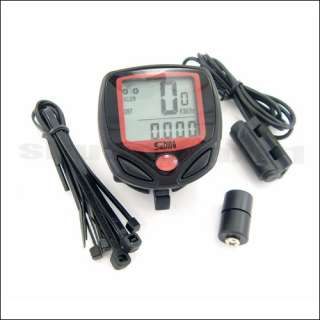 LCD Bike Bicycle Cycle Computer Odometer Speedometer NEW