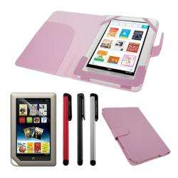 SKQUE  Nook Tablet Leather Case/ Screen Protector