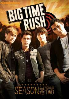 Big Time Rush Season One, Vol. 2 (DVD)