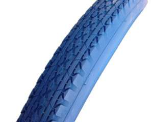 26 X 2.125 BLUE TIRE CRUISER BICYCLE BIKE CYCLING S