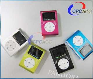 in 1 Hello Kitty Clip Metal LCD  Player Support 1 8GB TF card Gift