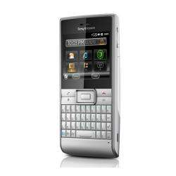 Sony Ericsson M1 Aspen Unlocked Silver Cell Phone
