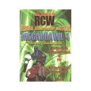 RCW Megabrawl 4 DVD Everything Else