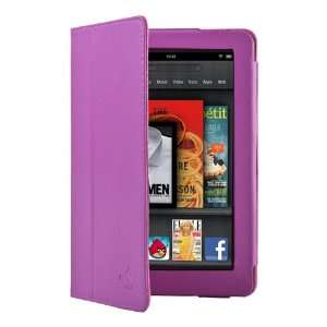 CE Compass Purple PU Leather Folio Cover Case Stand for