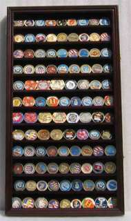 108 Coins / Casino Chip Display Case Cabinet, Coin/Chip
