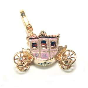 Juicy Couture Jewelry Princess Carriage Charm Gold Jewelry