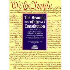 Meaning of the Constitution, The [Paperback]: Angela