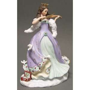 Lenox China Christmas Princess Figurine with Box