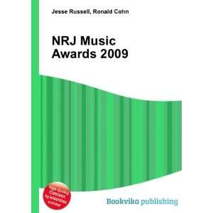 NRJ Music Awards 2009 Ronald Cohn Jesse Russell Books