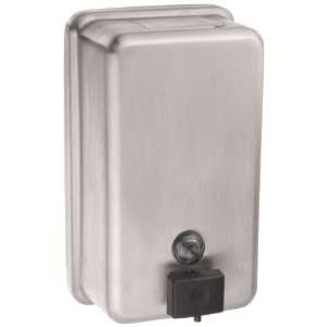 Bobrick B 2111 40 fl oz Stainless Steel Classic Series Surface Mounted