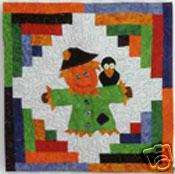 Scarecrow Wall Hanging or Pillow Top Quilt Pattern
