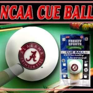 Alabama Crimson Tide College Logo Pool Cue Ball Sports