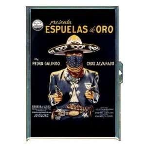 PEDRO GALINDO MEXICAN CINEMA BANDITO ID Holder Cigarette Case Wallet