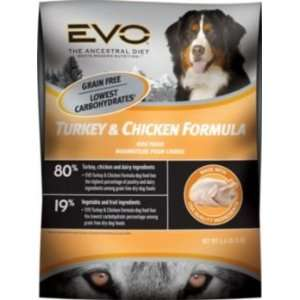 Evo Turkey/Chicken Lg Bite Dry Dog Food 13.2lb Pet