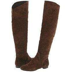 Nine West Flattering Womens Dark Brown Suede Boots