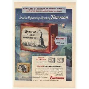 Model 740 Television TV Print Ad (Memorabilia) (45285): Home & Kitchen