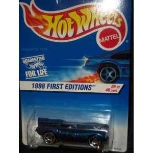 1998 First Editions #6 Jaguar D Type Razor Wheels #638