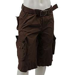 FINAL SALE X Ray Mens Brown Cargo Shorts