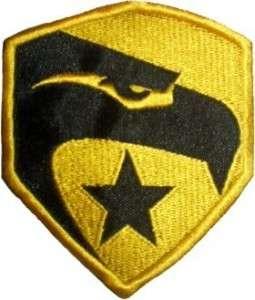 JOE Eagle Logo Movie Embroidered Patch Cobra GIJOE