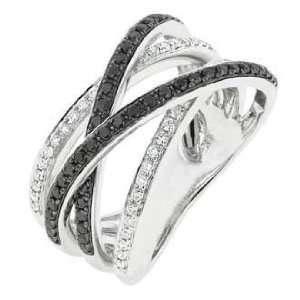 14K White Gold Diamond Ring (SI2 I1 clarity, G I color