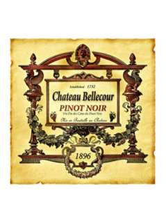 Pinot Noir Wine Label Giclee Print at AllPosters