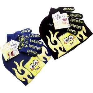 Nickelodeon SpongeBob SquarePants 2 Pcs Beanie Set in