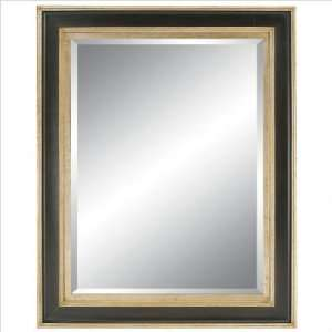 Diamante Reflections 92075 SB Contemporary Sophisticate Wall Mirror in