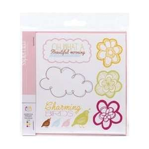 American Crafts Remarks Sticker Book Good Morning; 3 Items