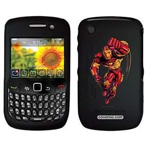 Iron Man Punching on PureGear Case for BlackBerry Curve