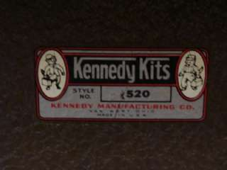 KENNEDY #520 MACHINIST TOOL BOX LOADED WITH TOOLS