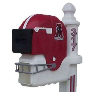 Alabama Crimson Tide Football Helmet Mailbox: Sports