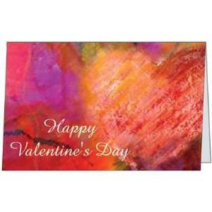 Valentines Day Lover Spouse Husband Wife Heart Greeting Card (5x7) by
