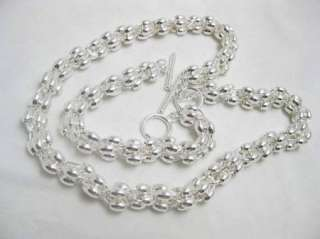 New  Fashion Silver plated Grape Necklace&bracelet K68