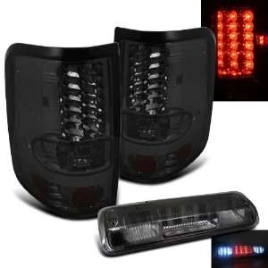 Eautolights 04 08 Ford F150 LED Smoked Tail Lights + LED
