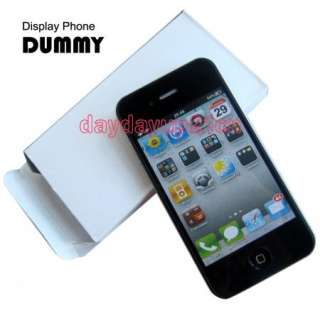 Black Fake Dummy Model Display Phone for iPhone 4 4G