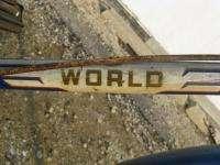 Vintage Schwinn World 20 cruiser bike mens sturmey archer brooks 1951
