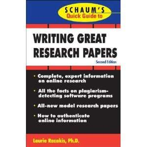 Writing Great Research Papers [WRITING GRT RESEARCH PAPERS 2/]: Books