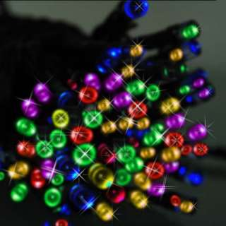7M 23ft 60 LED Solar Power Fairy Colorful String Fairy Lights Outdoor