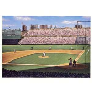 Good Sports Art New York Yankees Ruths Called Shot Lithograph: Sports