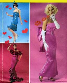Marilyn Monroe Dress, Flamenco & 20s Flapper Dress Costume M3385