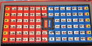 1996 STRATEGO Board Game Part 1 Replacement RED/BLUE ARMY ~Pick Any