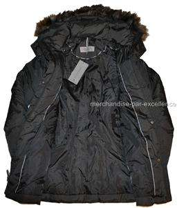 Size XL new MARC NEW YORK Down COAT Quilted Womens Hooded NEW Gray