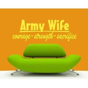 Strength Sacrifice Patriotic Vinyl Wall Decal Sticker Mural Quotes