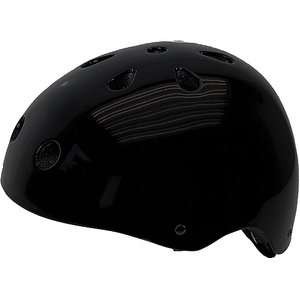 Black Freestyle Bike Helmet, Large