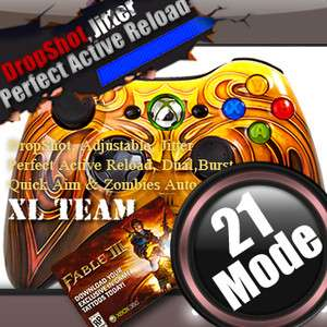ACTIVE RELOAD DROP SHOT XBOX 360 MODDED RAPID FIRE CONTROLLER GEARS OF